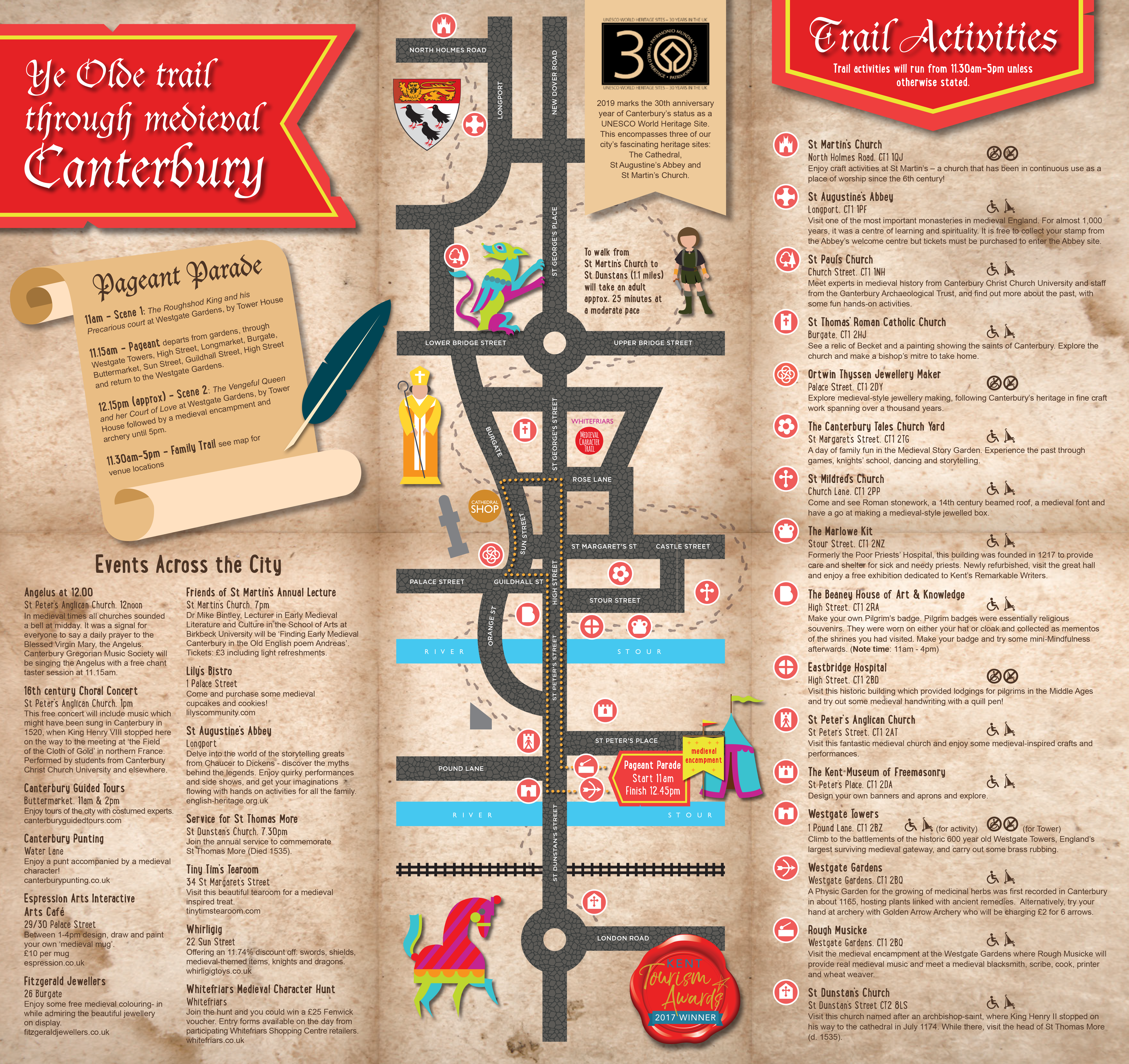 Canterbury Medieval Pageant and Family Trail 2020 - Canterbury Bid